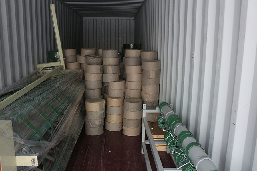 Wood veneer machines and spare parts exported to Gabon