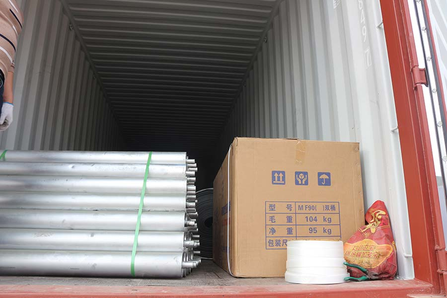 Plywood veneer paving line and veneed edge grinding machine exported to Vietnam