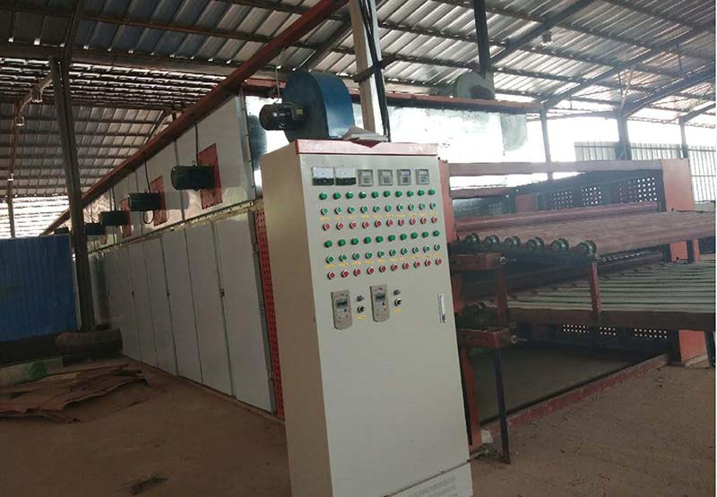 Complete plywood machine factory established in Cote d'Ivoire