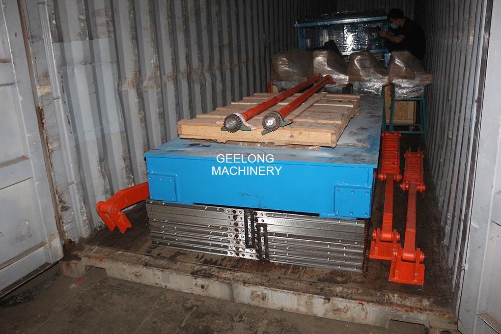 Heavy duty veneer press dryer machine