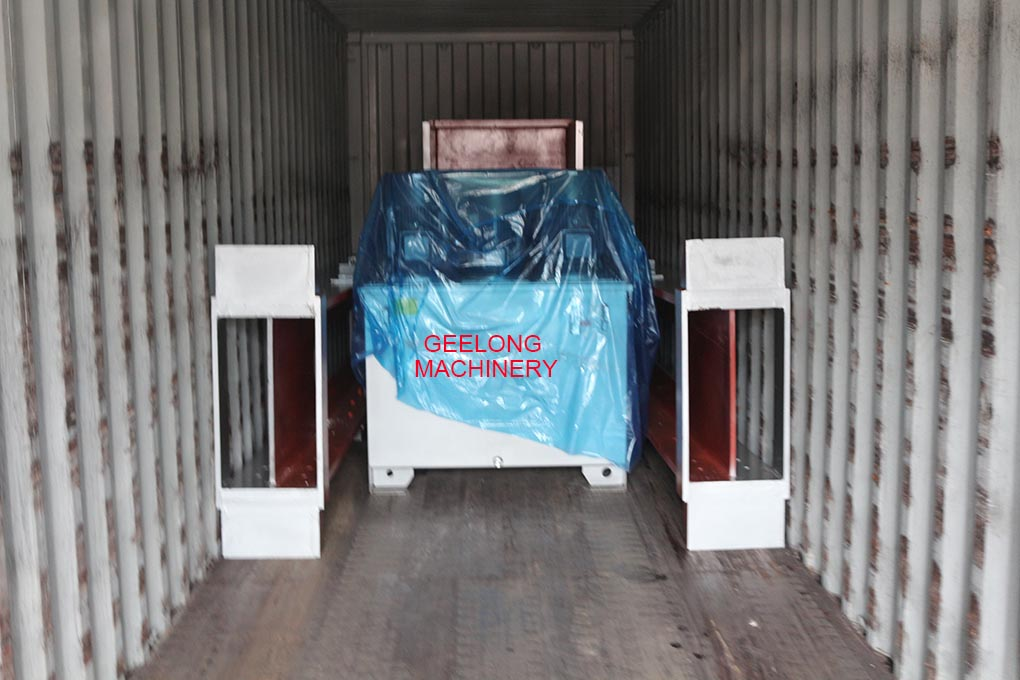 plywood hot press machine exported to our clients