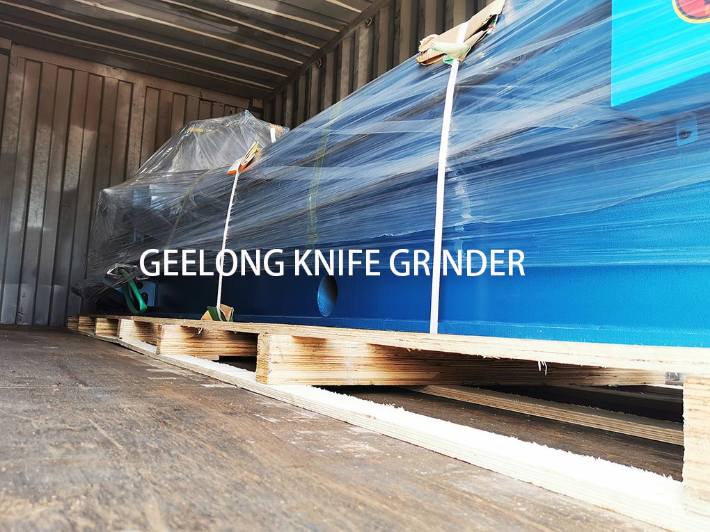 Knife sharping machine exportd by geelong