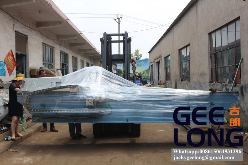 exporting automatic 8ft knife grinding machine to Africa