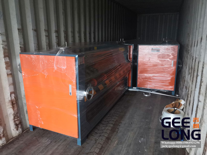 china GEELONG 1300MM glue spreader machine is exported