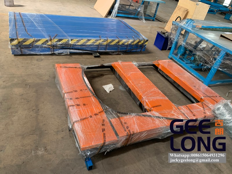 E model no ground foundation 150mm table lifter