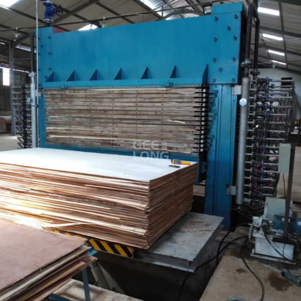 Plywood Hot Press Machine Geelong Brand