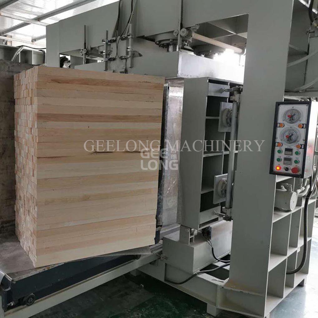 cold press block machine for Balsa