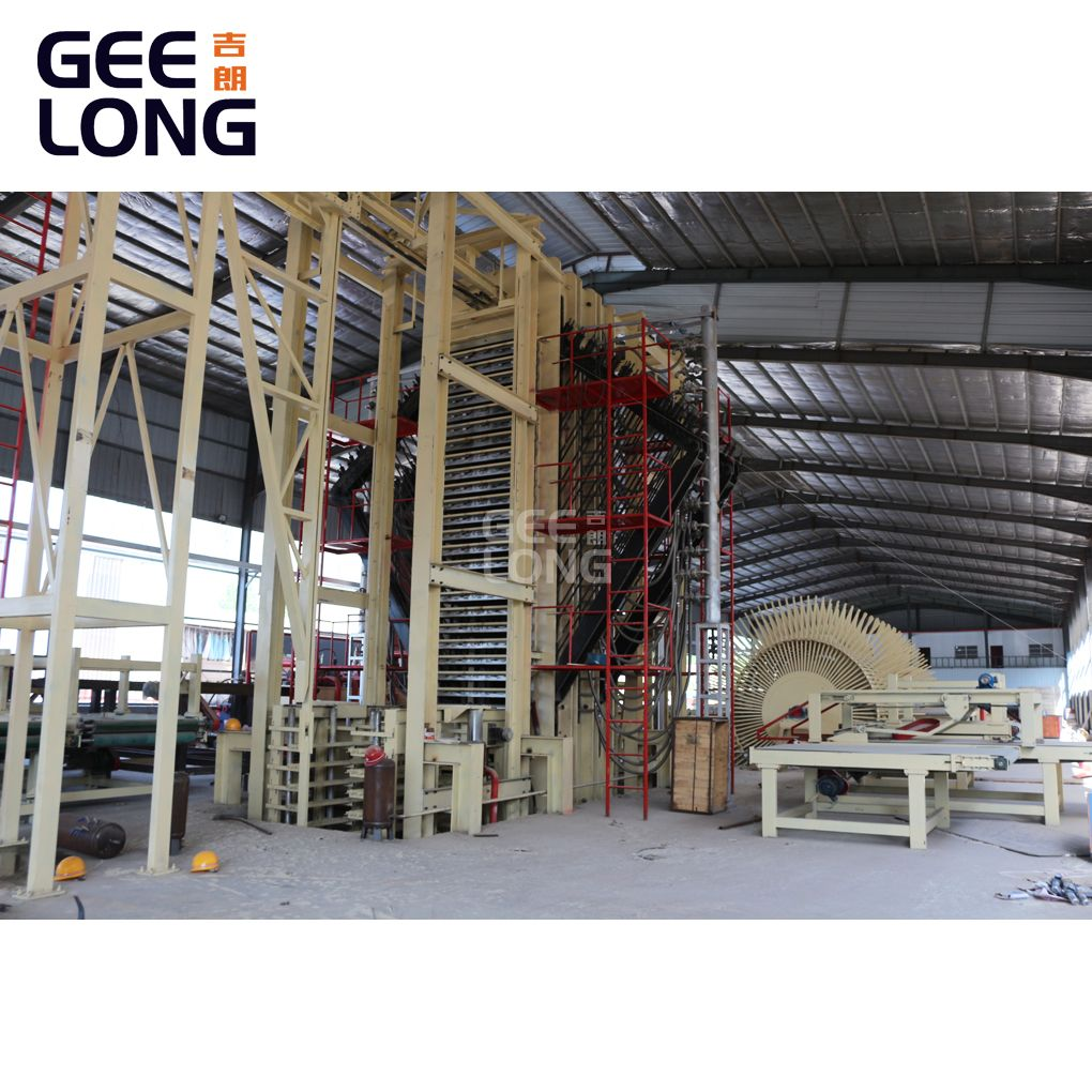 China GEELONG multilayer particle board machine