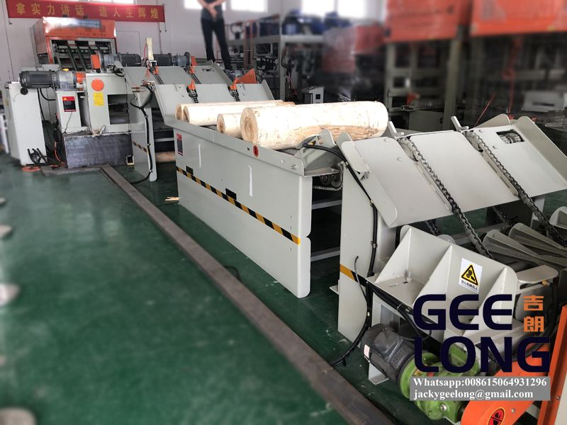 full automatic veneer peeling machine