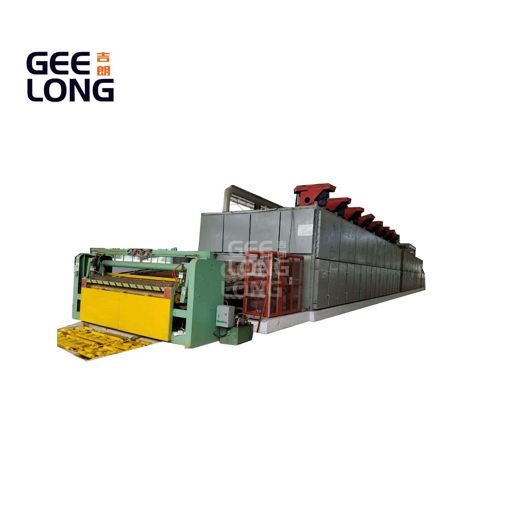 china GEELONG continuous veneer dryer machine