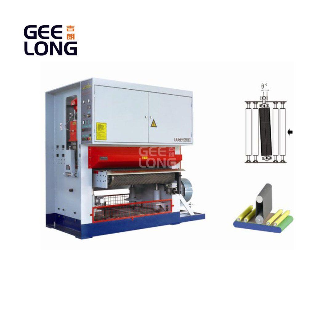 heavy duty single roller calibration sanding machine