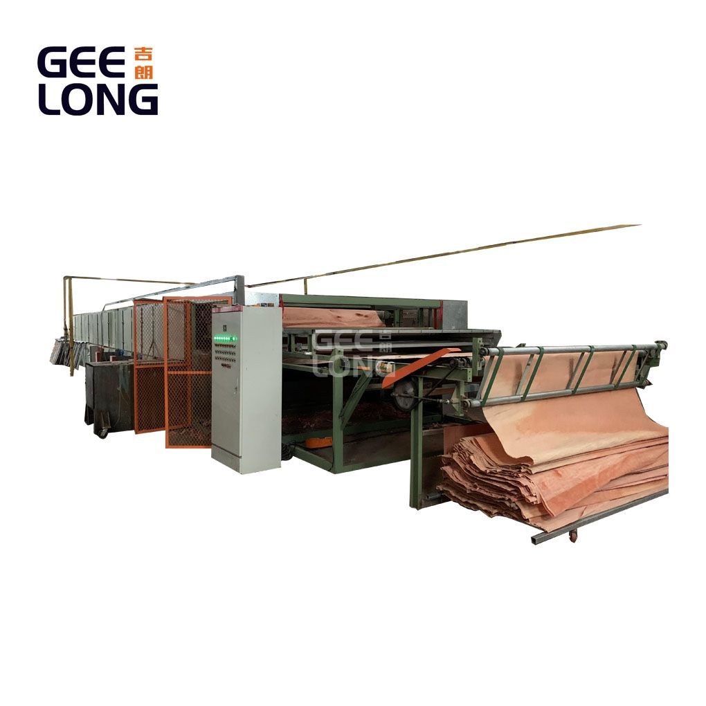 China GEELONG 2 layers face veneer dryer machine