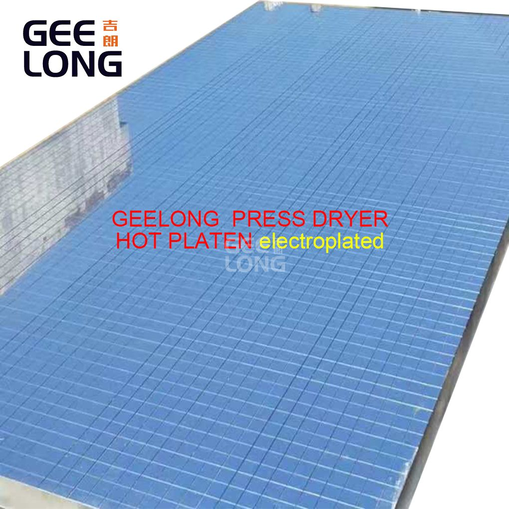Geelong Hot Press Dryer Hot Plates
