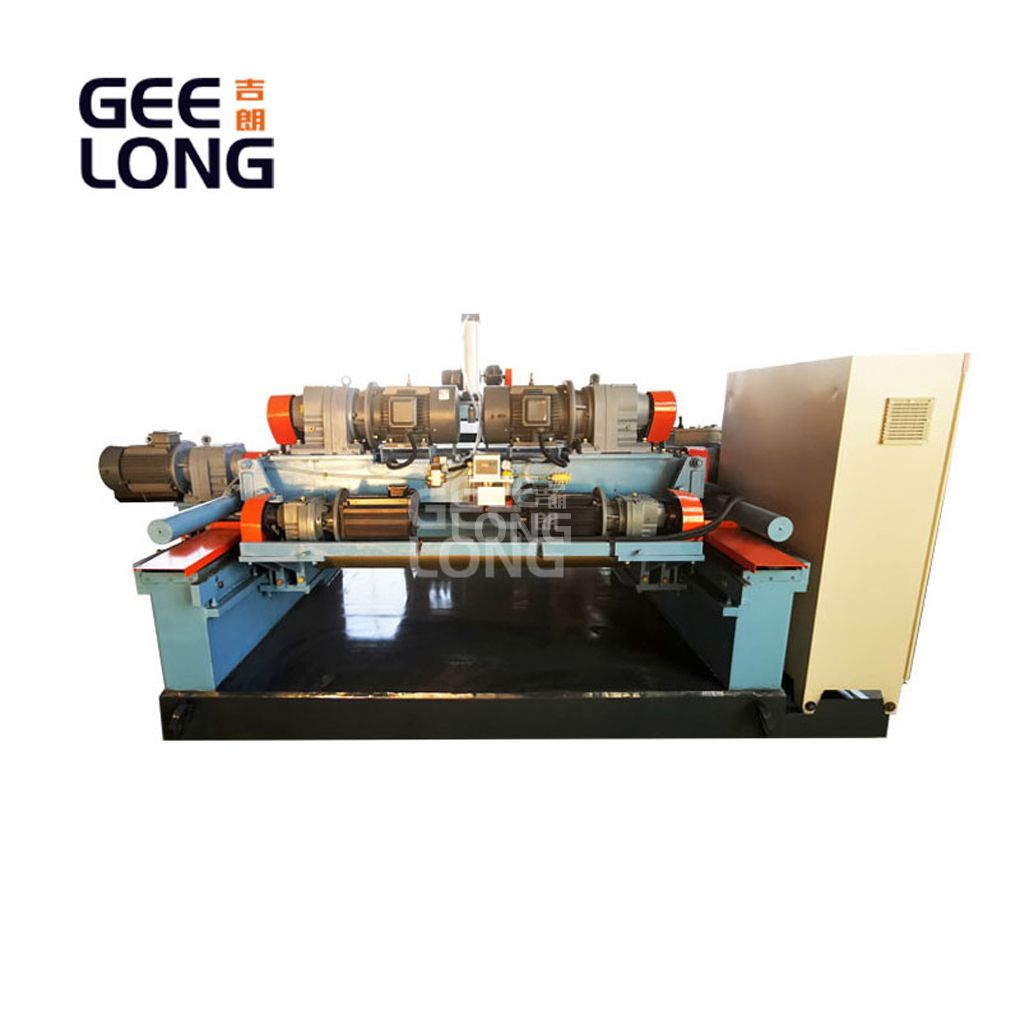 spindleless veneer lathe / spindleless veneer peeling lathe machine