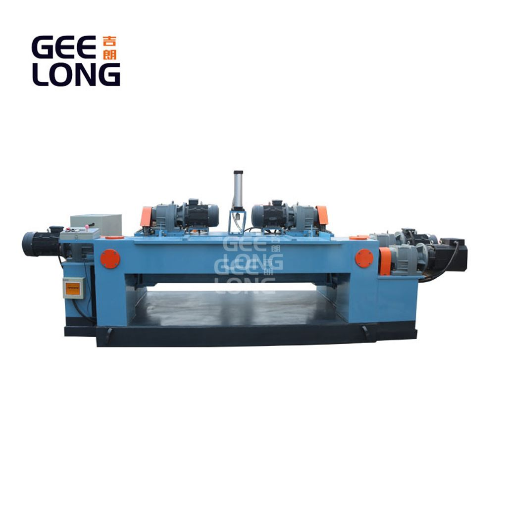 rotary veneer lathe/ spindleless lathe / spindleless veneer peeling machine