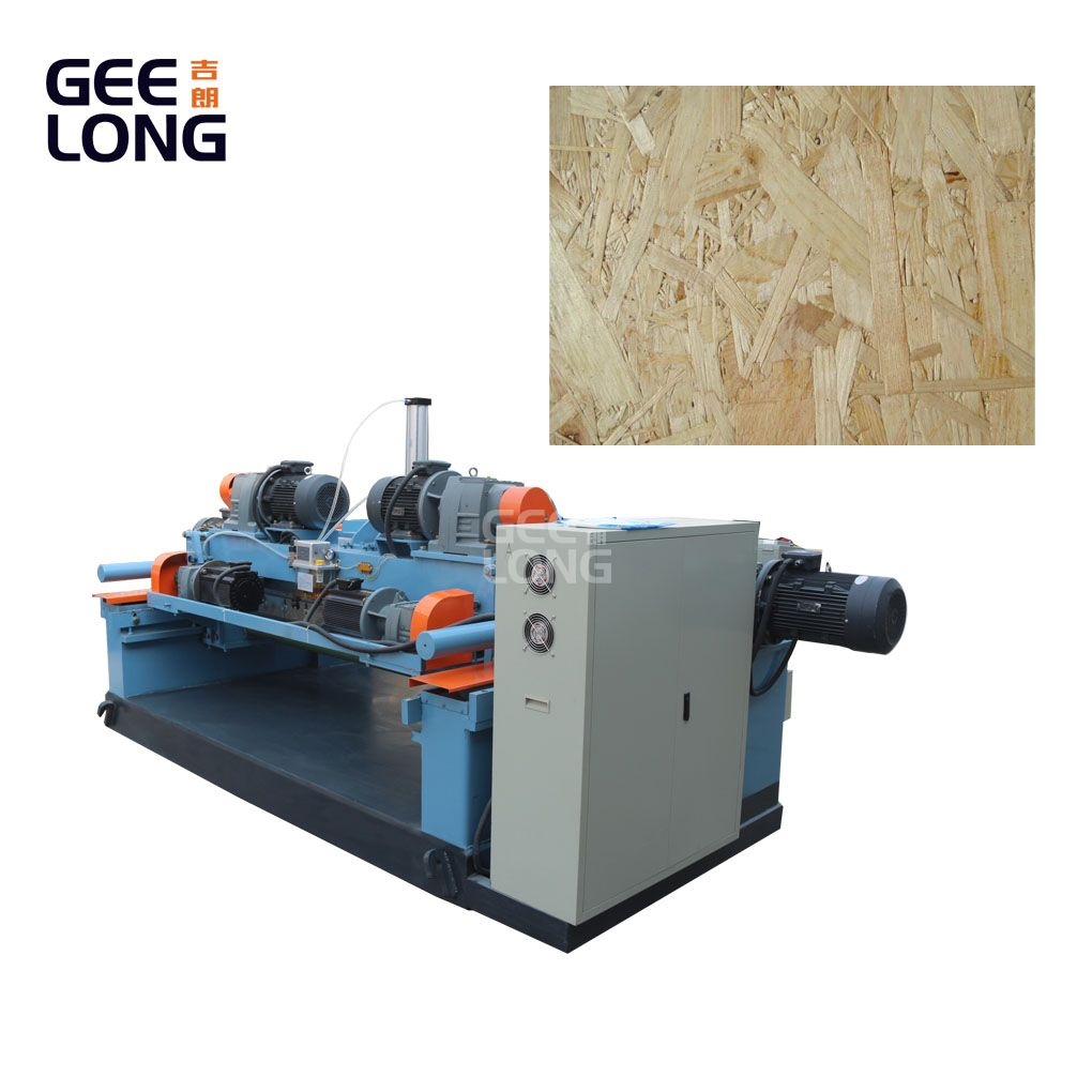 GEELONG spindleless veneer machine for producing OSB wood chips