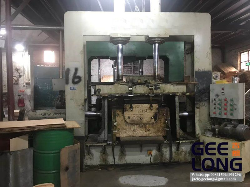 plywood chair press and bending machine