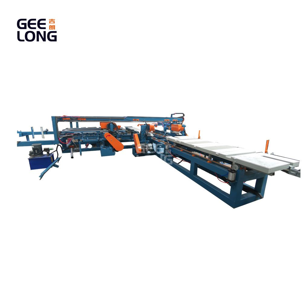 GEELONG adjustable size plywood trimming machine