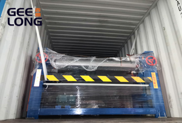 4ft double side glue spreader is exported