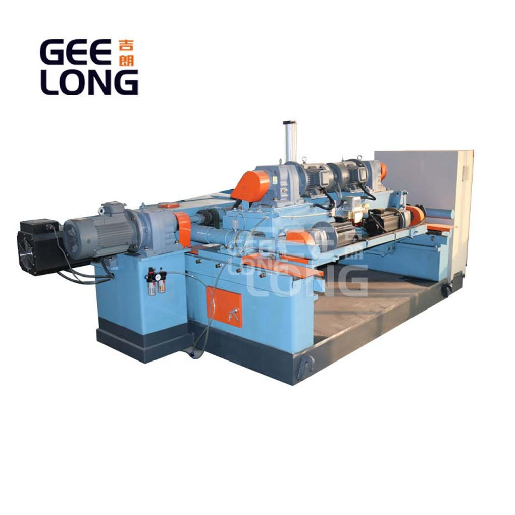 4 feet veneer peeler machine with no chuck for peeling core veneer