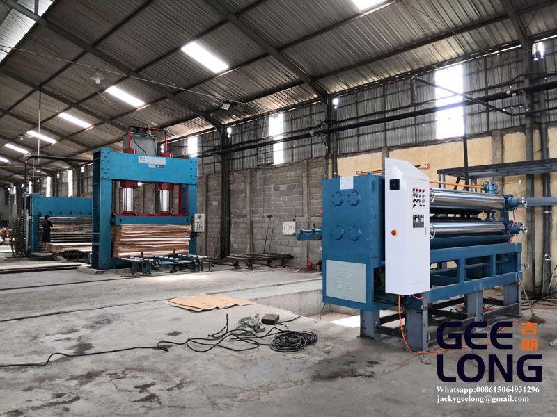 full set plywood production line
