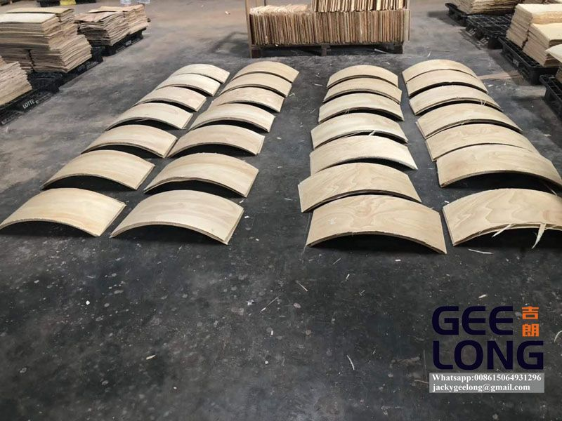 GEELONG 80T high frequency plywood chair press and bending machine