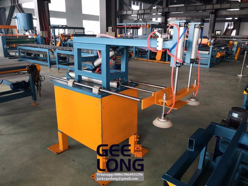 GEELONG automatic gluing line,automatic glue spreader machine