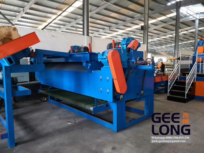 china GEELONG automatic birch veneer peeling machine line